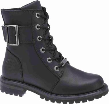 "Harley-Davidson Women's Sylewood 6.25"" Motorcycle Boots. Black or Brown. D87086 - Wisconsin Harley-Davidson"