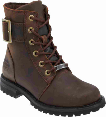 "Harley-Davidson Women's Sylewood 6.25"" Motorcycle Boots. Black or Brown. D87086 - Wisconsin Harley-Davidson"