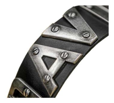 Harley-Davidson Men's Belt, Metal H-D Font, Black Leather Belt HDMBT10636 - Wisconsin Harley-Davidson