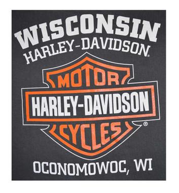 Sold In Pair HDMBS11600 Harley-Davidson Mens Bar /& Shield Mini Boot Clip