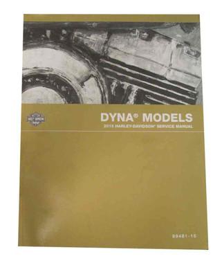 Harley-Davidson 2015 Dyna Models Motorcycle Service Manual 99481-15 - Wisconsin Harley-Davidson