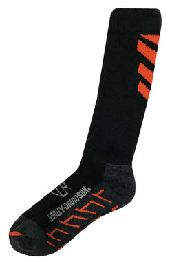 Harley-Davidson Wolverine Men's Extreme Wool Performance Socks (Black, Large) - Wisconsin Harley-Davidson