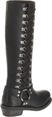 "Harley-Davidson Women's Romy Inside Zip Boots. Shaft 14.5"", Heel 1.75"" D87020 - Wisconsin Harley-Davidson"