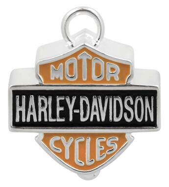 Harley-Davidson Big Bar & Shield Ride Bell Orange & Black HRB023 - Wisconsin Harley-Davidson