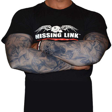 Missing Link SPF 50 Gunz N Money ArmPro Compression Sleeves - APGM - Wisconsin Harley-Davidson