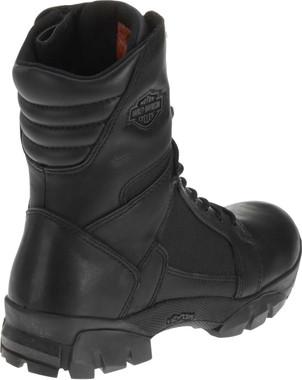 Harley-Davidson Men's Lynx Waterproof Black 8-Inch Motorcycle Boots D95149 - Wisconsin Harley-Davidson