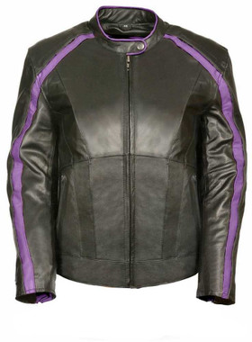 Milwaukee Leather Women's Jacket w/ Stud & Wings Detailing ML1952 - Wisconsin Harley-Davidson