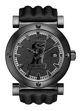 Harley-Davidson Men's Bulova Black #1 Racing Skull Wrist Watch 78B131 - Wisconsin Harley-Davidson
