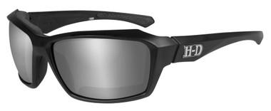 Harley-Davidson Men's Cannon Gasket Sunglasses, Gray Lenses/Black Frames HACNN02 - Wisconsin Harley-Davidson