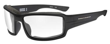 Harley-Davidson Men's Cruise 2 Gasket Sunglasses, Clear Lens/Black Frame HACRS03 - Wisconsin Harley-Davidson