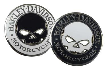 Harley-Davidson Willie G Skull Cutout Challenge Coin, 1.75 inch Coin 8004835 - Wisconsin Harley-Davidson