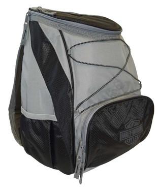 Harley-Davidson PTX Backpack Cooler, Bar & Shield Logo, Gray 633-00 - Wisconsin Harley-Davidson