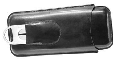 Harley-Davidson Leather Cigar Case & Cutter HDL-18550 - Wisconsin Harley-Davidson