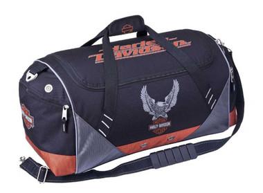 Harley-Davidson Sport & Travel 20 inch Duffel Bag, Black 99614 - Wisconsin Harley-Davidson