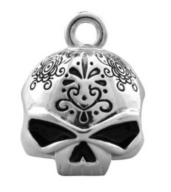 Harley-Davidson Day Of The Dead Silver Ride Bell HRB041 - Wisconsin Harley-Davidson