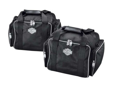 Harley-Davidson Trunk Travel Packs, Set of 2, Black Bar & Shield Logo 53000431 - Wisconsin Harley-Davidson