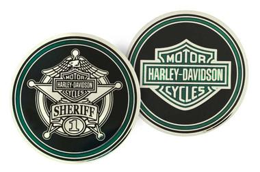 Harley-Davidson Challenge Coin, Sheriff Trans with Bar & Shield Logo 8003128 - Wisconsin Harley-Davidson