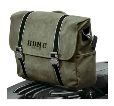 Harley-Davidson HDMC Messenger Bag, Water-Resistant, Army Green 93300101 - Wisconsin Harley-Davidson