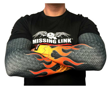 Missing Link SPF 50 Carbon It Up Wicking ArmPro Compression Sleeves APCU - Wisconsin Harley-Davidson