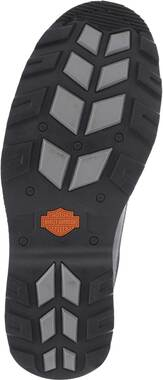 Harley-Davidson Men's Bonham 6.25-Inch Blacked-Out Motorcycle Boots D93369 - Wisconsin Harley-Davidson