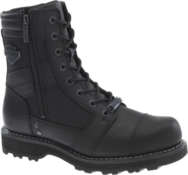 Harley-Davidson Men's Boxbury 7-Inch Blacked-Out Motorcycle Boots D93370 - Wisconsin Harley-Davidson