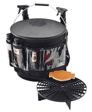 Harley-Davidson Bike Wash Bucket w/ Multi-Pocket Apron, 3.5 Gallon 94811-10 - Wisconsin Harley-Davidson