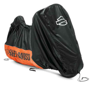 Harley-Davidson Indoor Motorcycle Cover, Fits on a Variety of Models 93100018 - Wisconsin Harley-Davidson