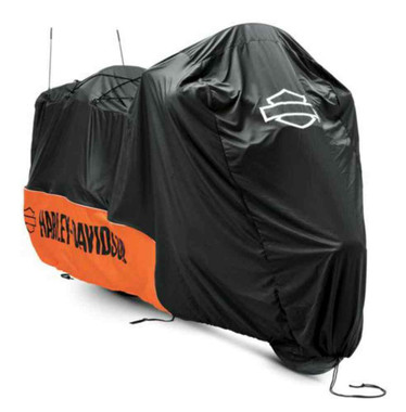 Harley-Davidson Indoor Motorcycle Cover, Fits Touring & Freewheeler 93100020 - Wisconsin Harley-Davidson
