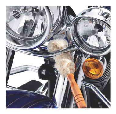 Harley-Davidson Cleaning Brush Kit: Chamois, Spiral & Mop Brushes 94844-10 - Wisconsin Harley-Davidson