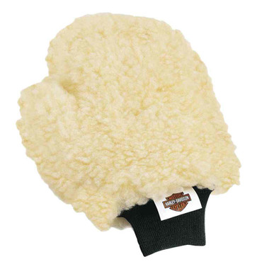 Harley-Davidson Premium Quality Wool-Blended Custom Wash Mitt 94760-99 - Wisconsin Harley-Davidson