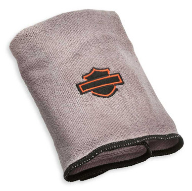 Harley-Davidson Super-Soft Microfiber Detailing Cloth, Multi-Purpose 94663-02 - Wisconsin Harley-Davidson