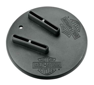 Harley-Davidson Bar & Shield Jiffy Stand Coaster, Black Polypropylene 94647-98 - Wisconsin Harley-Davidson