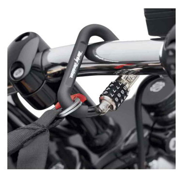 Harley-Davidson Helmet Lock, Carabiner-Style Universal Helmet Lock 52200003 - Wisconsin Harley-Davidson