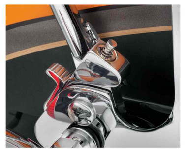 Harley-Davidson Locking Detachable Latch Kit, Pair w/ Two Keys, Chrome 90300087 - Wisconsin Harley-Davidson