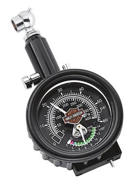 Harley-Davidson Motorcycle Compact Tire Gauge & Tread Depth Indicator 75008-02A - Wisconsin Harley-Davidson