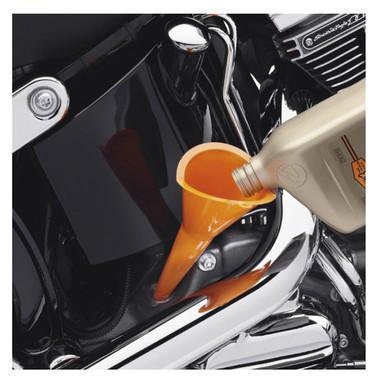 Harley-Davidson Transmission / Crankcase Fill Funnel, Anti-Burp Design 63799-10 - Wisconsin Harley-Davidson
