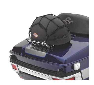 Harley-Davidson 12 inch 4-Hook Vinyl-Coated Cargo Net, Universal Fit 97008-07 - Wisconsin Harley-Davidson