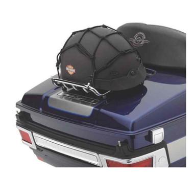 Harley-Davidson 15 inch 6-Hook Vinyl-Coated Cargo Net, Universal Fit 98170-88T - Wisconsin Harley-Davidson