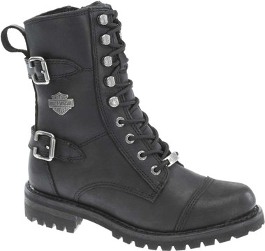"Harley-Davidson Women's Balsa 7"" Motorcycle Boots. Blk, Brown or Stone D83853 - Wisconsin Harley-Davidson"