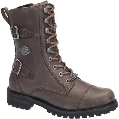 "Harley-Davidson Women's Balsa 7"" Motorcycle Boots. Blk, Brown or Stone D83853 - Wisconsin Harley-Davidson"