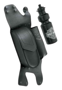 Harley-Davidson Saddlebag Guard Bag w/ Water Bottle Holder, Left Side 93300061 - Wisconsin Harley-Davidson
