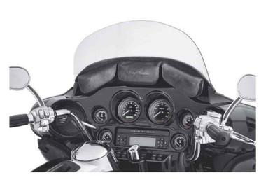 Harley-Davidson Three-Pocket Batwing Fairing Pouch, Black Vinyl 58900-11 - Wisconsin Harley-Davidson