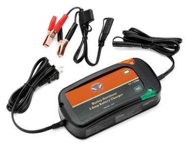 Harley-Davidson 5Amp Weather-Resistant Battery Tender Charger Universal 66000041 - Wisconsin Harley-Davidson