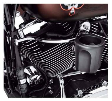 Harley-Davidson Rider Cup Holder, Fits Touring & Trike Models, Black 50700001 - Wisconsin Harley-Davidson