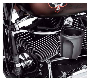 Harley-Davidson Rider Cup Holder, Fits Dyna Models, Perforated Bottom 57478-11 - Wisconsin Harley-Davidson