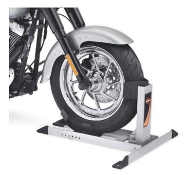 Harley-Davidson Cruiser Cradle Wheel Chock, Sturdy Aluminum Cradle 92900001 - Wisconsin Harley-Davidson