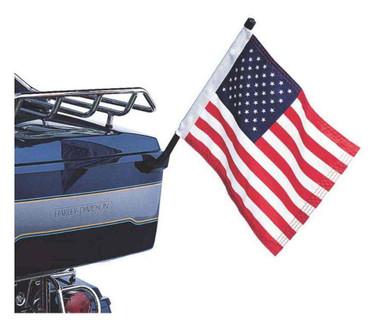 Harley-Davidson Tour-Pak Mount American Flag Kit, High-Quality Nylon 61400206 - Wisconsin Harley-Davidson
