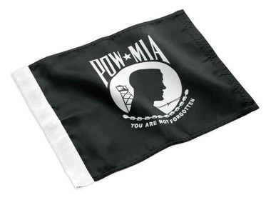 Harley-Davidson Replacement POW/MIA Flag, High-Quality Nylon, Black 94902-03 - Wisconsin Harley-Davidson