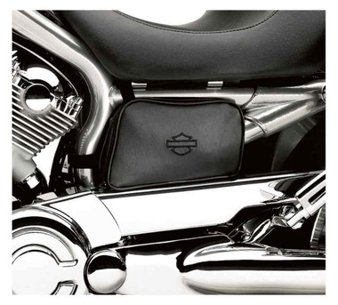 Harley-Davidson Bar & Shield Left Side Frame Bag, Fits VRSC Models 94204-03A - Wisconsin Harley-Davidson