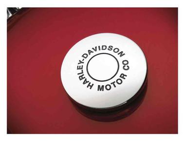 Harley-Davidson H-D Motor Co. Fuel Cap Medallion, Adhesive Backing 99539-97 - Wisconsin Harley-Davidson